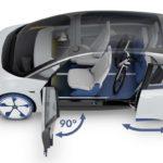 """פולקסווגן I.D. קונספט. מכונית חשמלית עם טווח נסיעה 400-600 ק""""מ"""