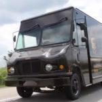 רכב חלוקה הייברידי של Workhorse בשירות UPS