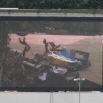 התאונה שבה קיפח הנרי סורטיס את חייו על מסך ענק בברנדס האץ'