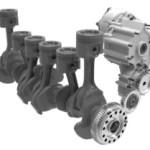 מנוע עם מגדש טורבו ומערכת ראנקין הממירה אנרגיית חום למומנט
