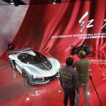 מכונית ספורט הייברידית של הונג'י, סין
