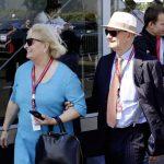 פייך (מימין) עם אשתו ארוסולה, בלה מאן 2014